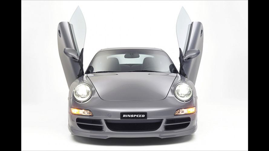 Porsche zum Abheben: Flügeltüren von Rinspeed
