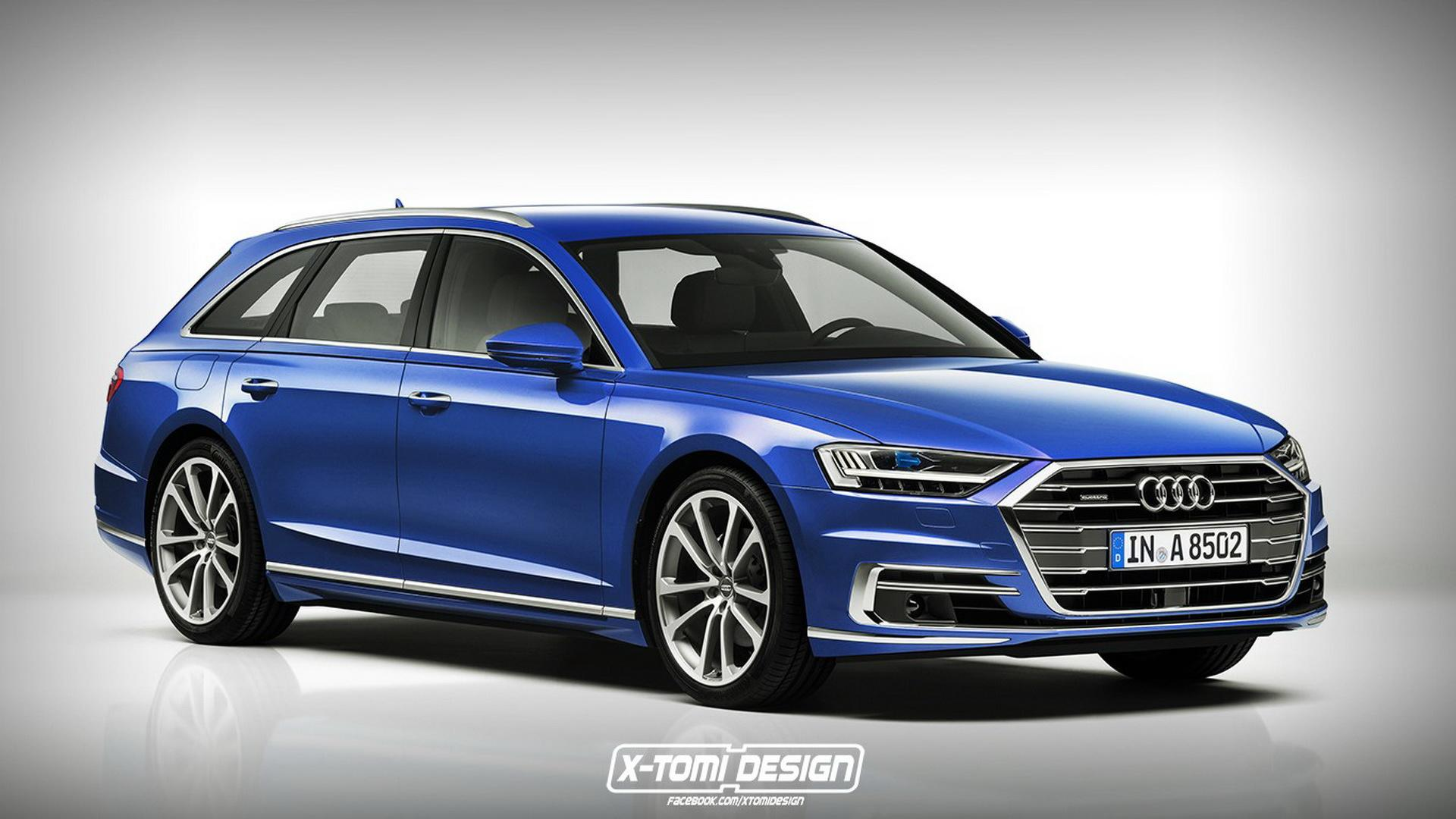 2018 Audi A8 Render Galore Coupe Avant S8 Rs8