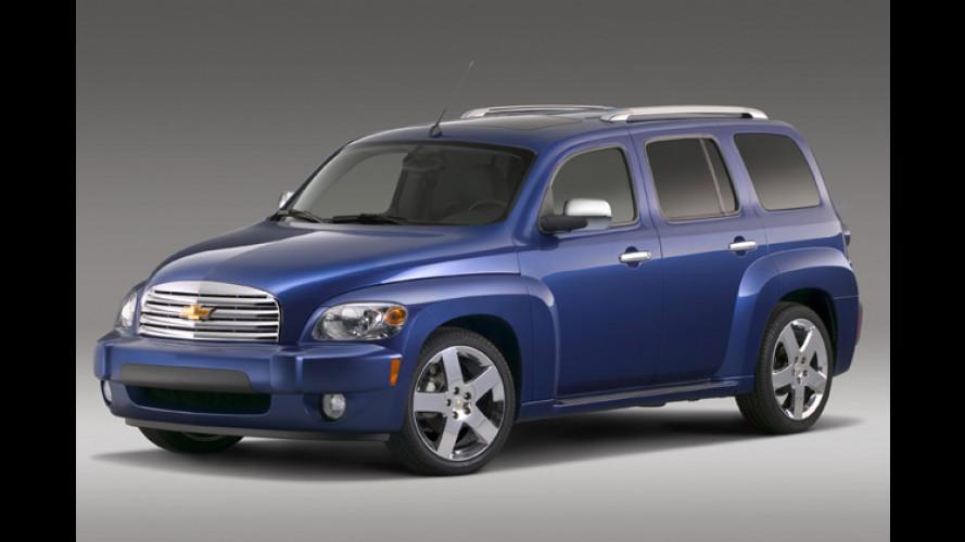 Chevrolet HHR: Stark im Retro-Look und richtig geräumig