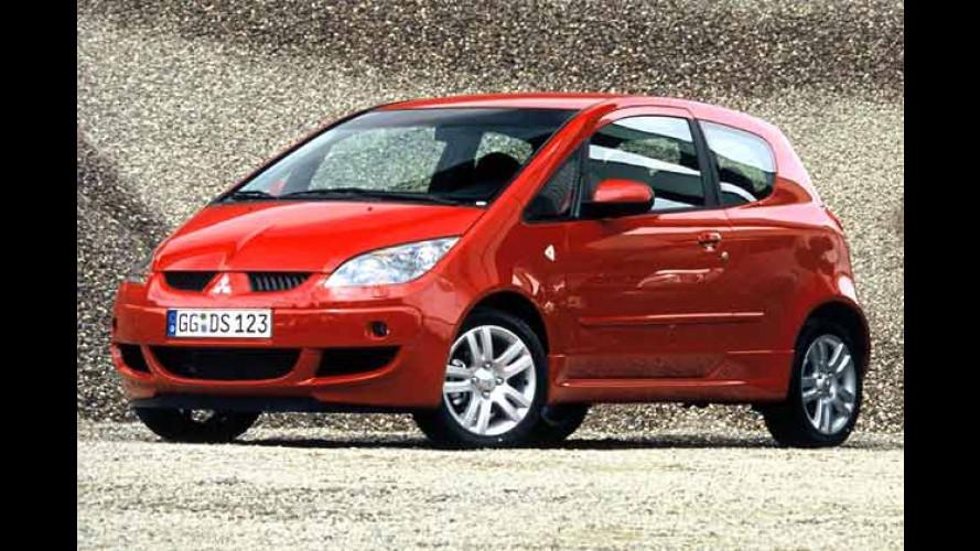 Mitsubishi macht Druck: Colt Dreitürer und starke Turbos