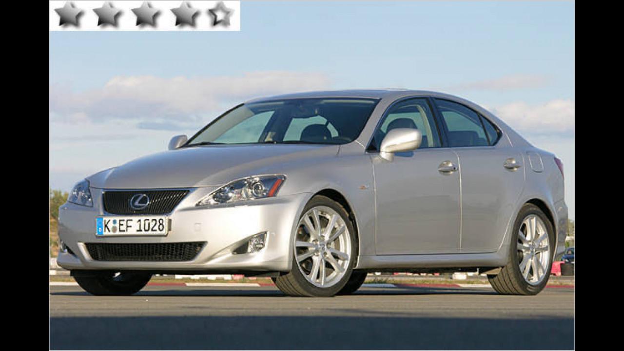 Lexus IS 220d: 76 Punkte