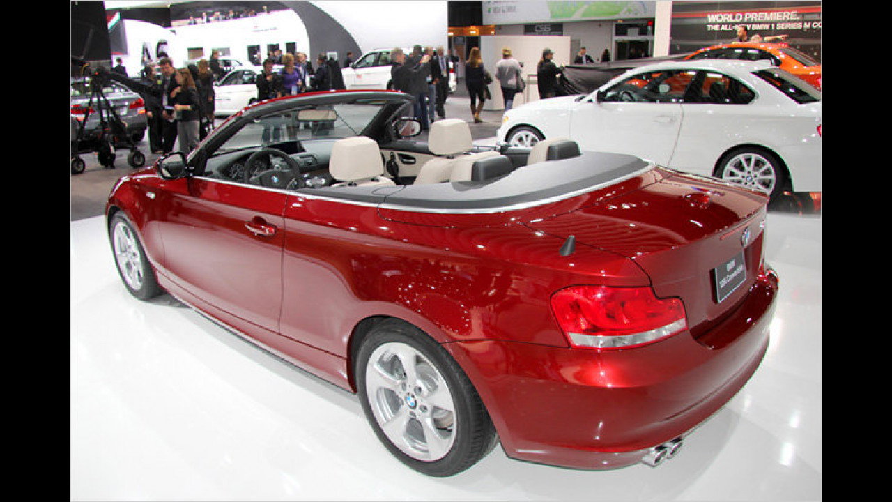 BMW 1er Cabrio Facelift