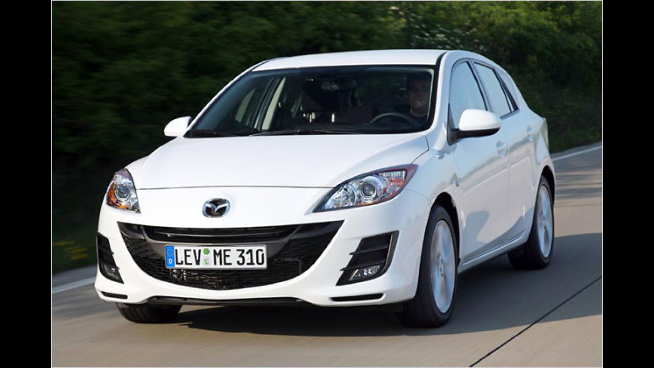 Platz 1 Untere Mittelklasse: Mazda 3