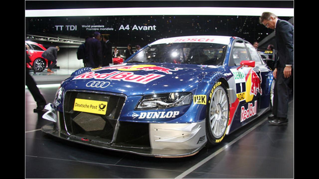 Audi A4 DTM: Mit diesem umgebauten A4 will DTM-Titelverteidiger Mattias Ekström auch in diesem Jahr wieder auf Punktejagd gehen