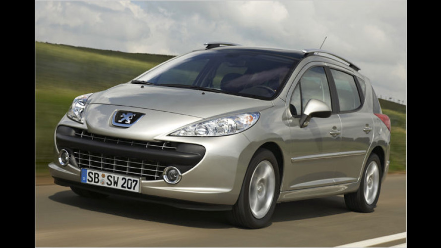 Günstiger Firmenwagen: Peugeot 207 SW Business-Line