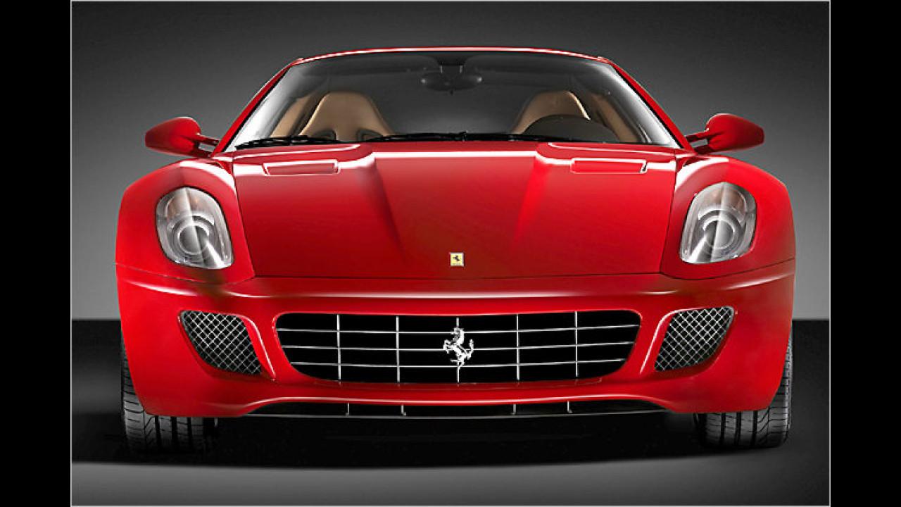 Platz 10: Ferrari 599 GTB Fiorano