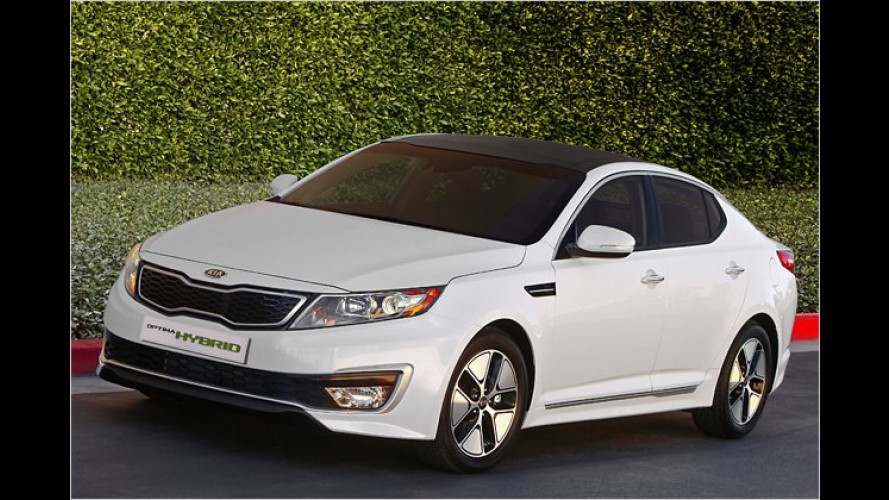 Kia präsentiert in LA Hybridversion des Optima