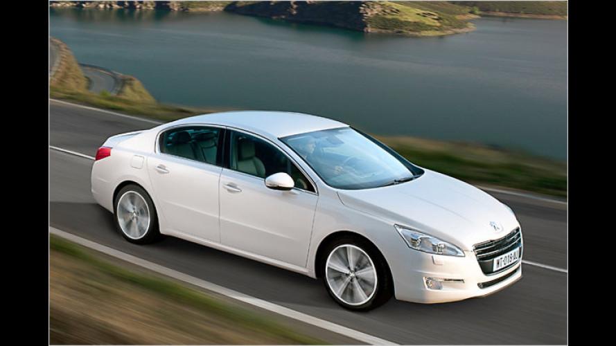 Peugeot präsentiert neues Topmodell 508