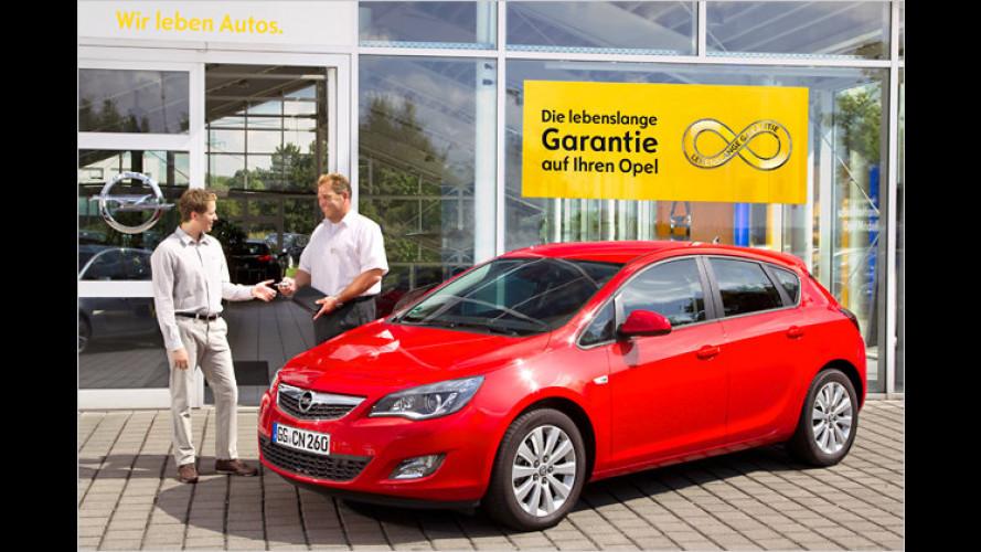 """Opel will mit """"lebenslanger Garantie"""" den Absatz ankurbeln"""