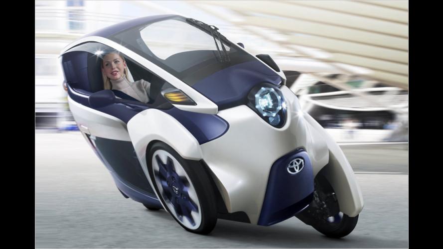 Toyota i-Road: Schräger Typ auf dem Genfer Salon 2013