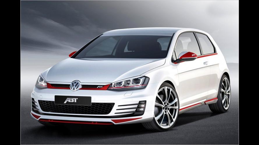 Neuer VW Golf GTI schon getunt