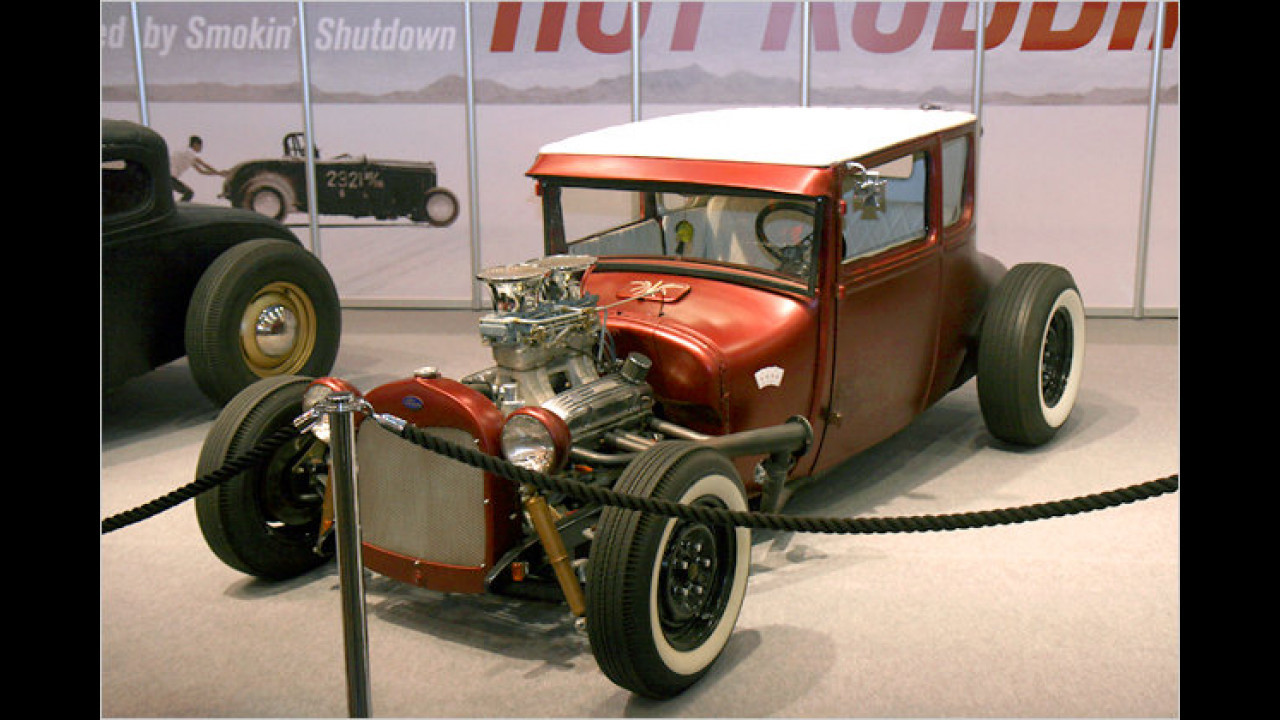 1927 Ford Model T Coupé