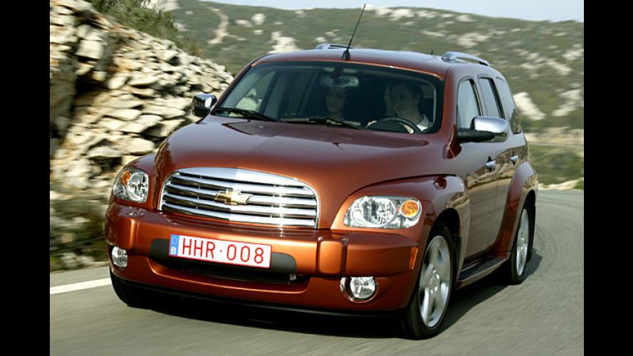 Chevrolet HHR fährt künftig mit Benzin oder Ethanol