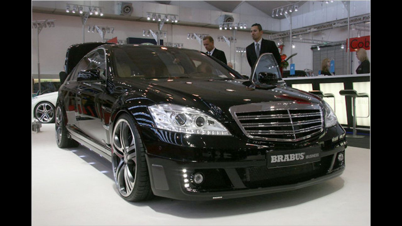 Brabus iBusiness auf Basis Mercedes S-Klasse
