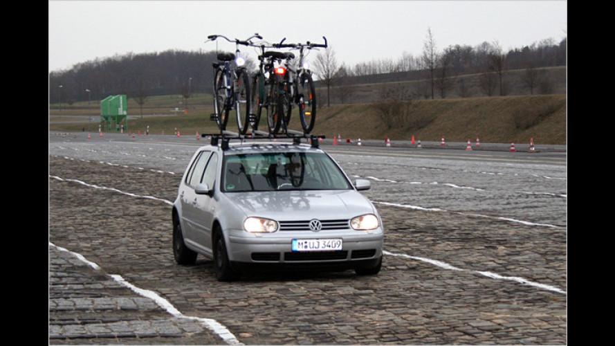 ADAC-Test: Wie sicher sind Fahrradträger fürs Dach?