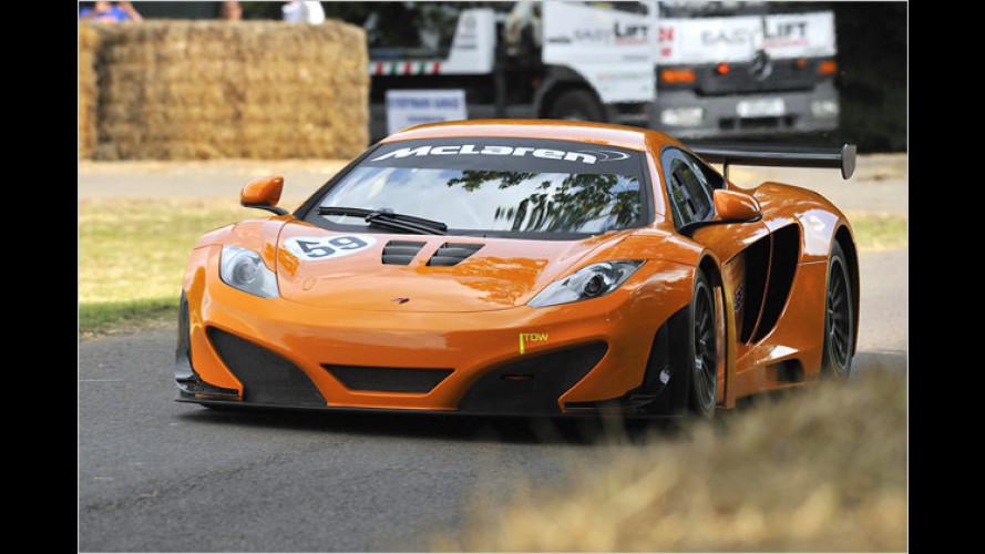 Goodwood Festival of Speed: Historische Renner im Einsatz