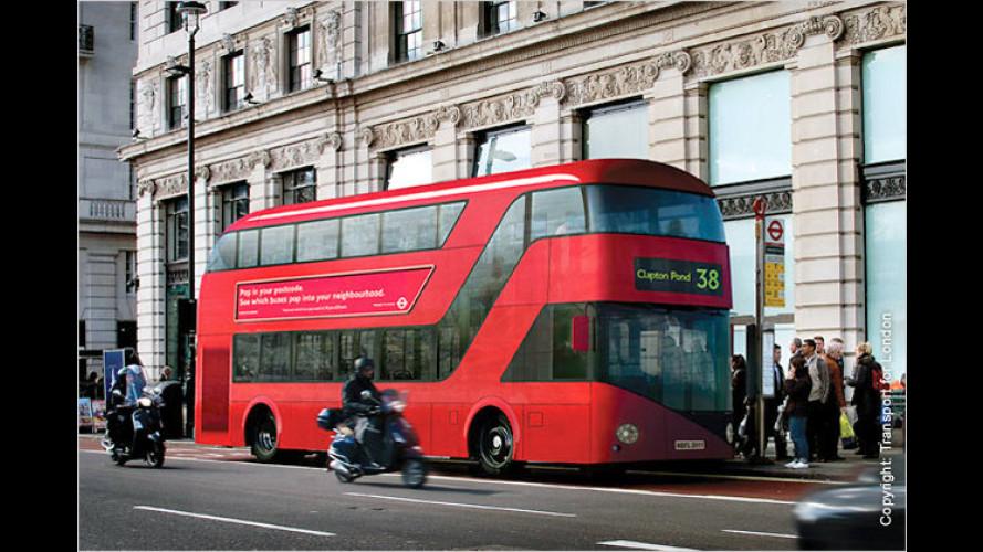 Modern und trotzdem traditionell: Neue Busse für London