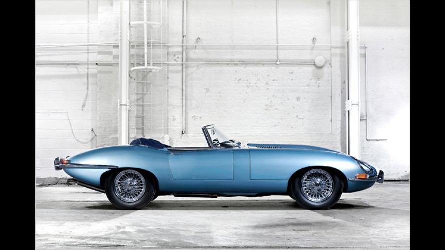 Jaguar: Der E-Type wird 50 Jahre alt