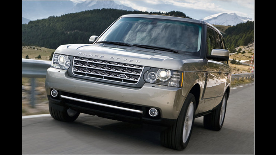 Range Rover: Mit neuem 510-PS-V8 stärker und sparsamer