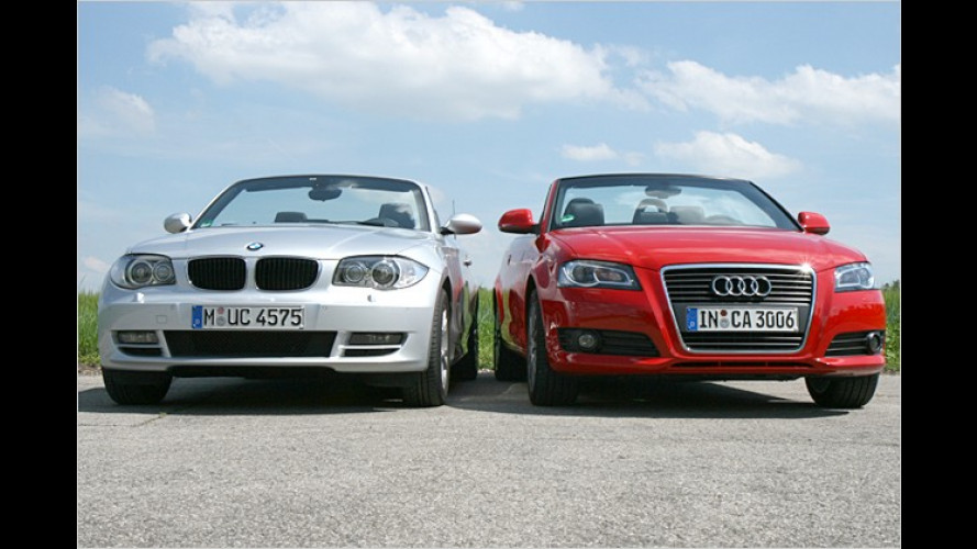 Audi A3 oder BMW 1er: Wer ist der bessere Frischluft-Bayer?