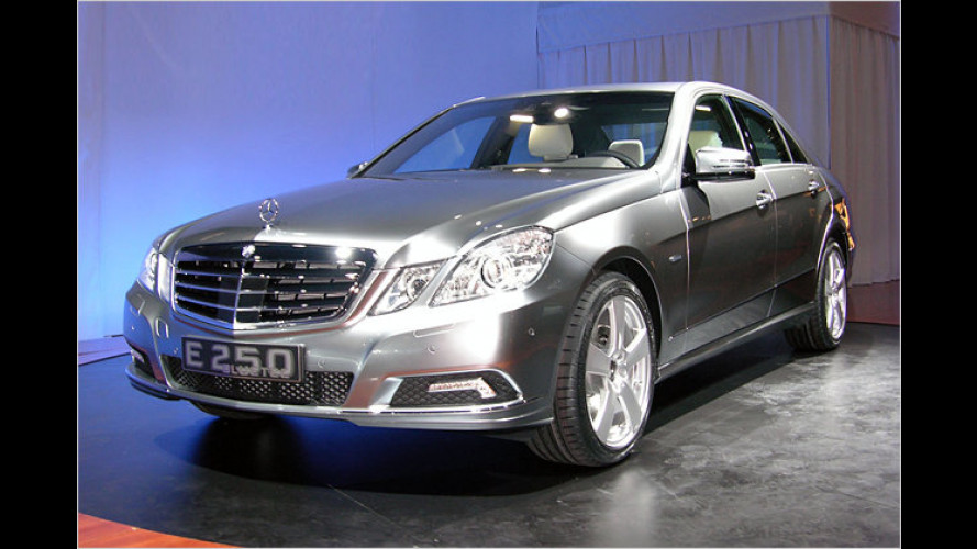 Mercedes E 250 BlueTec: Saubere Studie in New York