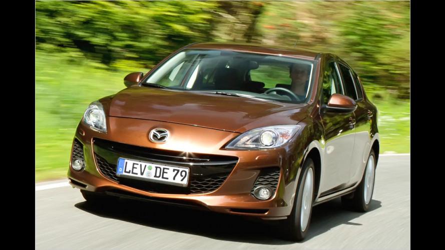 Modellpflege bei Mazda 2 und 3