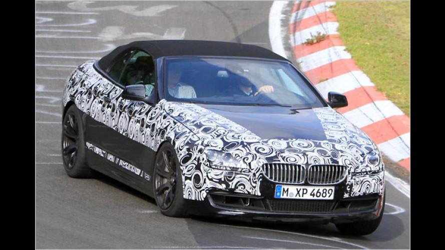 Stoff-Brenner: BMW M6 Cabrio als Erlkönig