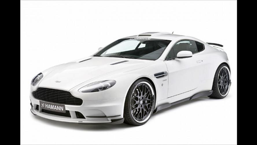 Ihr neuer Wagen, Mister Bond? Hamann tunt Aston Martin