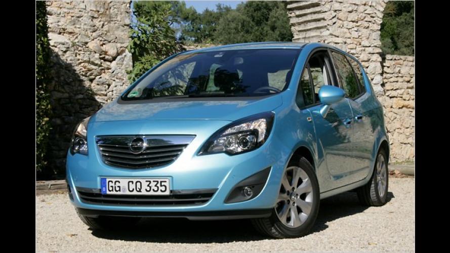 Pfiffig designter Minivan: Gutes Sitzsystem, aber wackelig