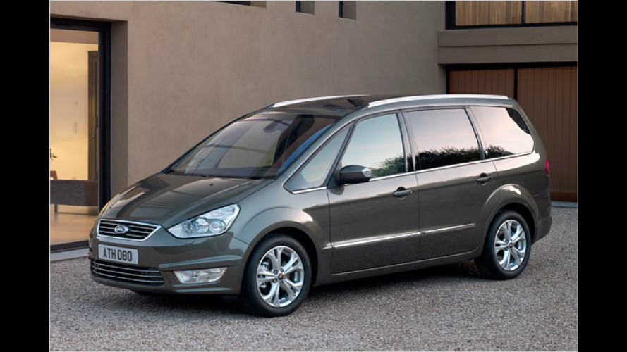 Ford S-Max und Galaxy (2009): Neue Motoren, modifizierte Optik