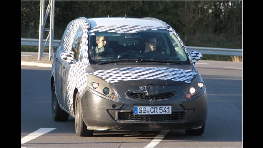 Erwischt: Der neue Opel Zafira