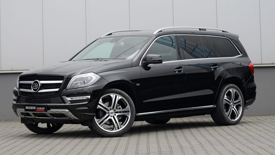 Brabus tunes Mercedes GL-Class