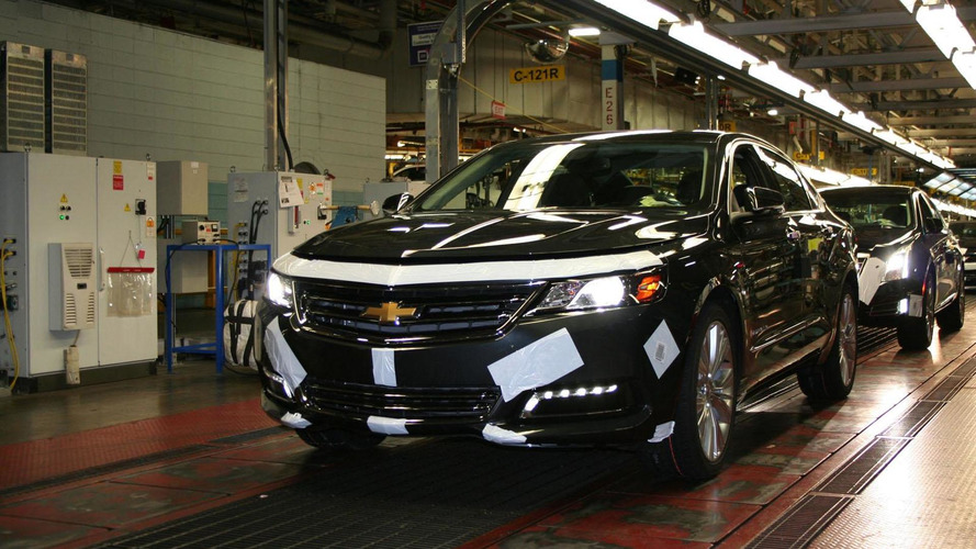 2014 Chevrolet Impala enters production