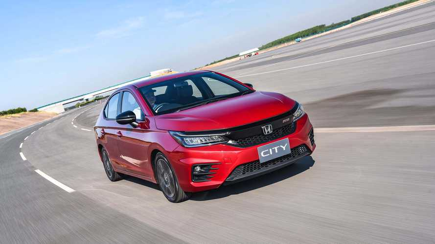 Novo Honda City vai estrear motor 1.5 do Civic Touring em versão aspirada