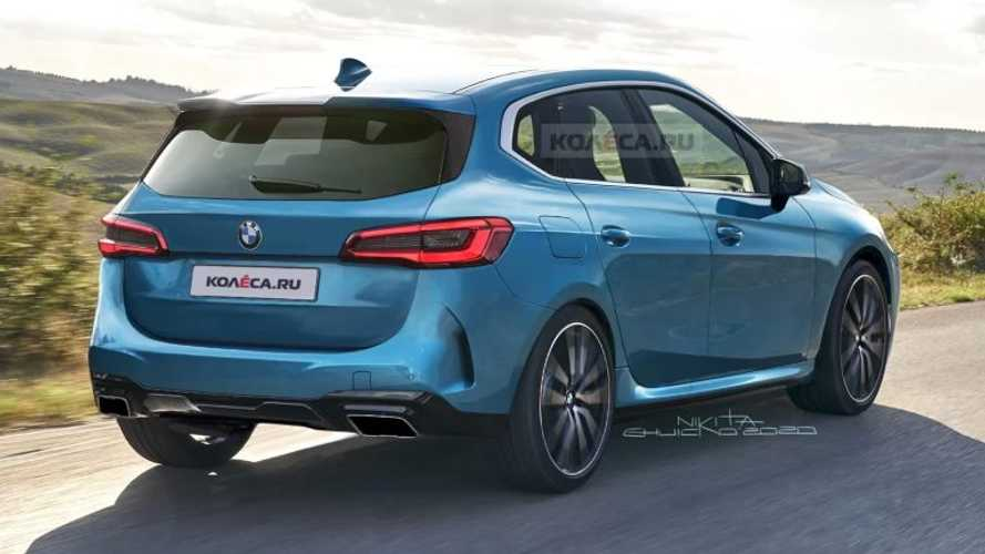 BMW Serie 2 Active Tourer 2021, render