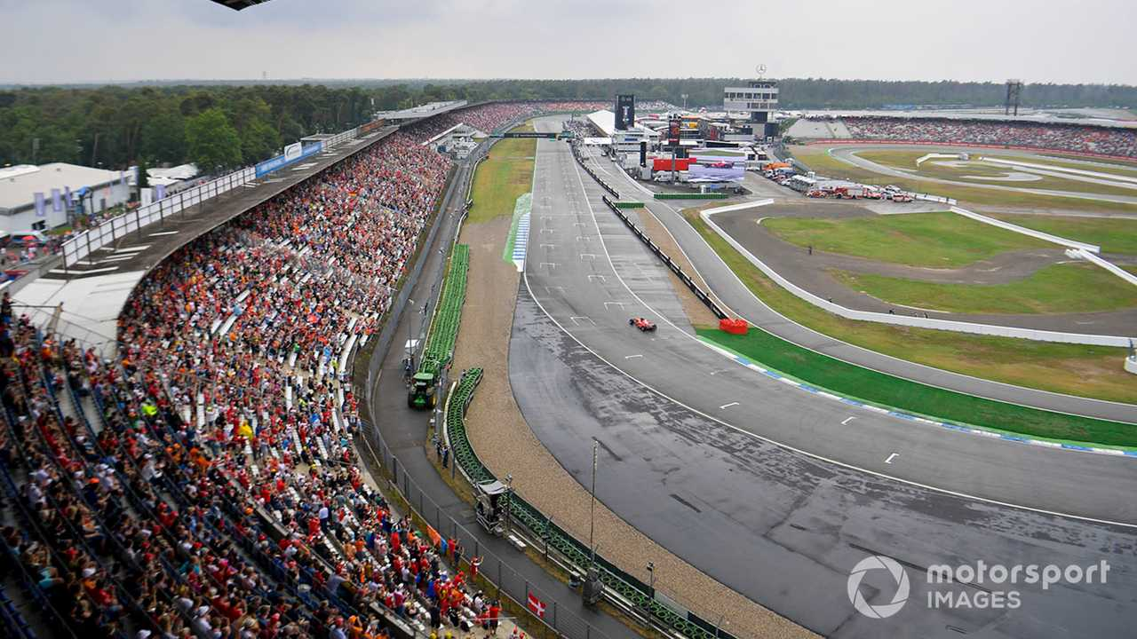 Mick Schumacher in Ferrari F2004 at German GP 2019
