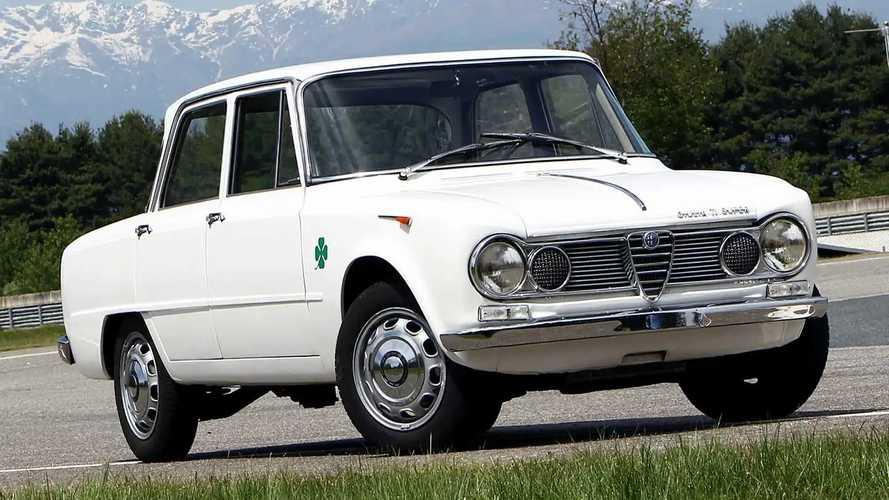 Alfa Romeo Giulia, 1962 vs 2020