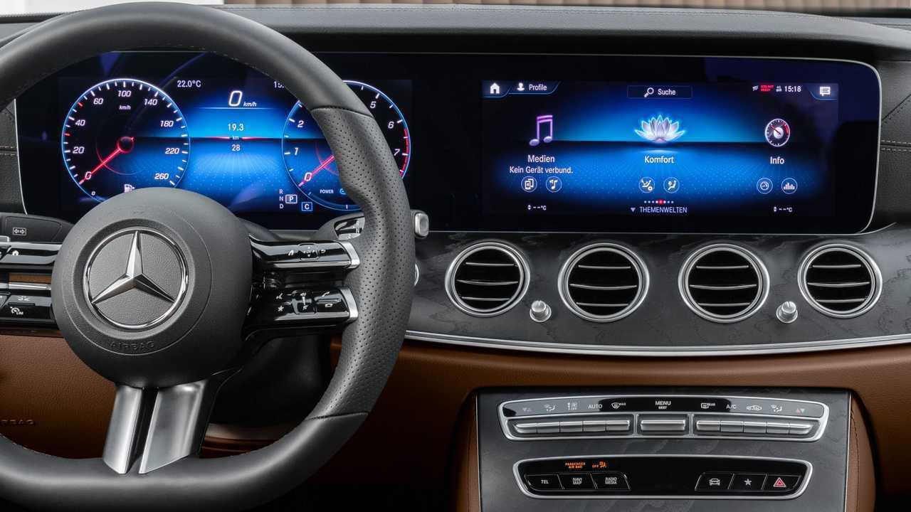 2021 Mercedes E-osztaly Coupe, Kabrió teaser