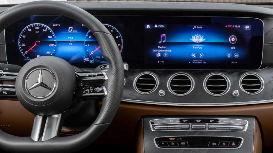 2021 Mercedes E-Class Coupe, Cabrio teaser shows familiar interior