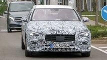 2021 Mercedes C-Class Saloon new spy photos
