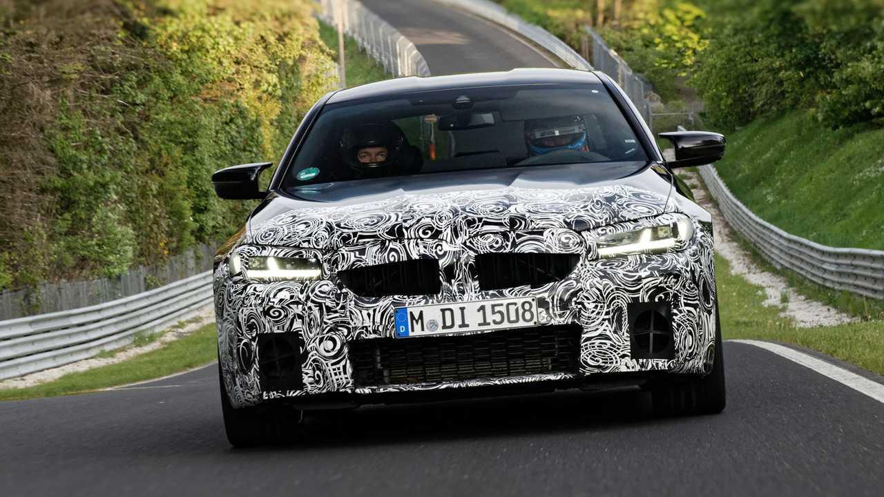 BMW M5 (2020) PreDrive