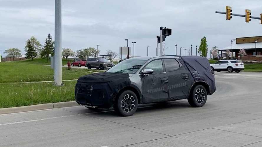 Hyundai'nin yeni pick up'ı Santa Cruz görüntülendi