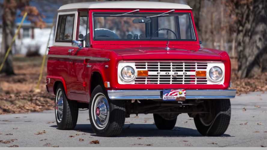 Ford Bronco render - The Sketch Monkey