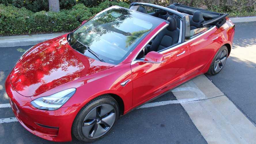 Ça vous tente une Tesla Model 3 Cabriolet ?