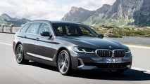 BMW Serie 5 Touring restyling (2020)
