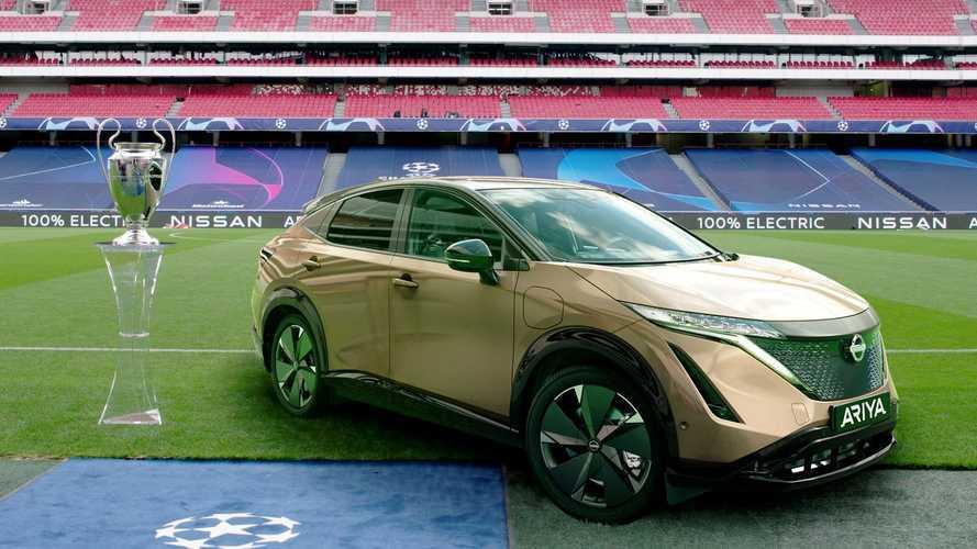 Nissan Ariya vai marcar presença na final da UEFA Champions League