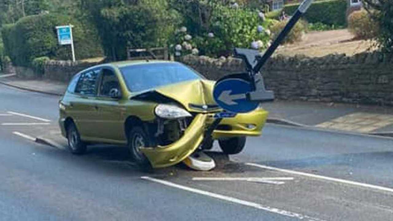 Pókos baleset