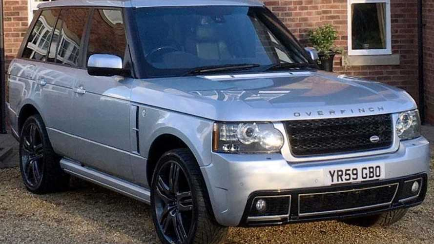 Check out Wayne Rooney's personal Overfinch Range Rover