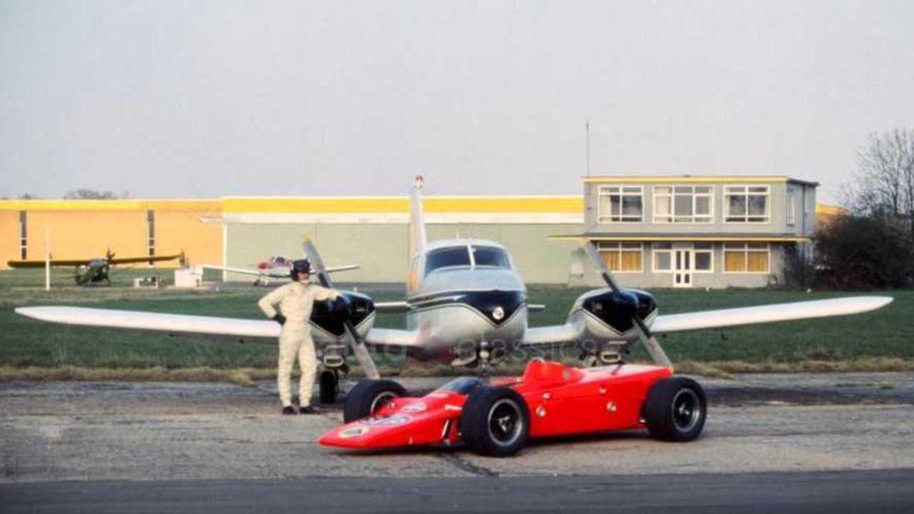 Graham Hill's turbine-powered Lotus 4WD Indy machine on sale