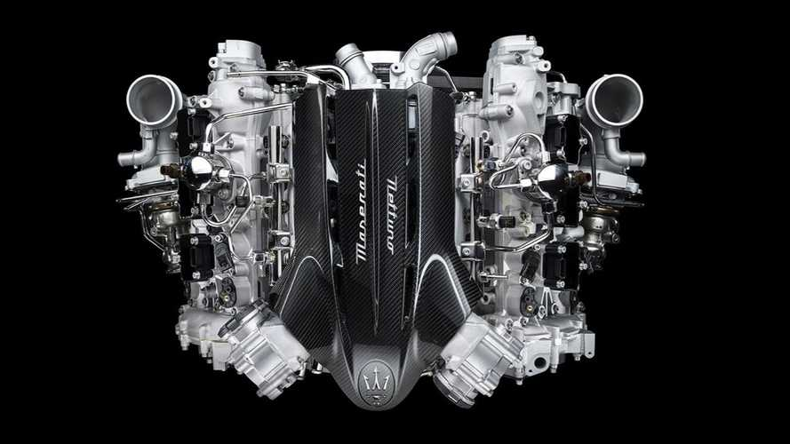 Maserati Nettuno engine is a twin-turbo V6 with 630 bhp